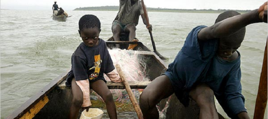 Child Trafficking – 31 rescued from Volta Lake