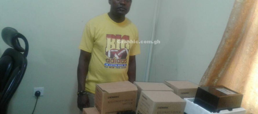 Business man arrested for importing fake electricity meters