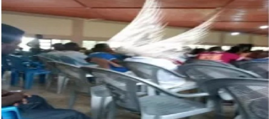 Teenager captures angel-like wings on camera at Easter Convention