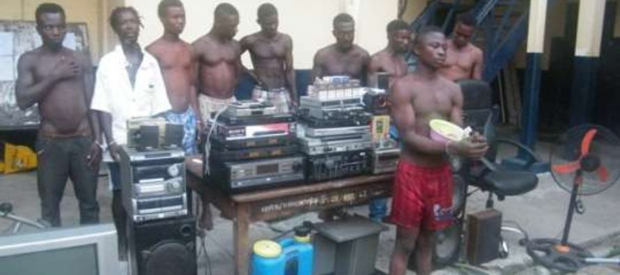 Winneba Police command arrests nine criminals