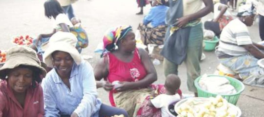 Traders take over the streets of Assin Fosu