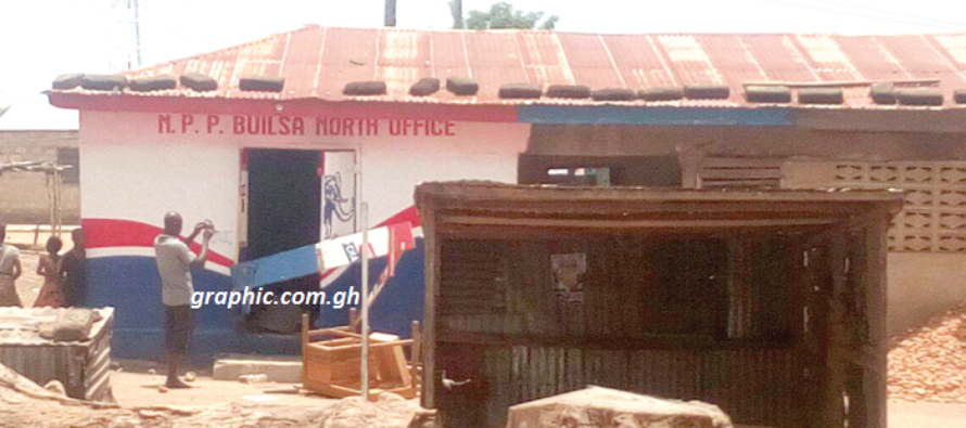 Security beefed up at Zebilla after NPP youth vandalise properties