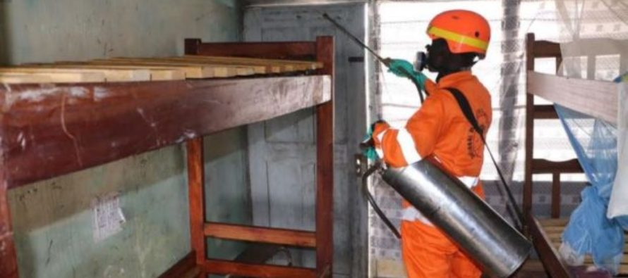 Over 300,000 rooms to be sprayed against malaria