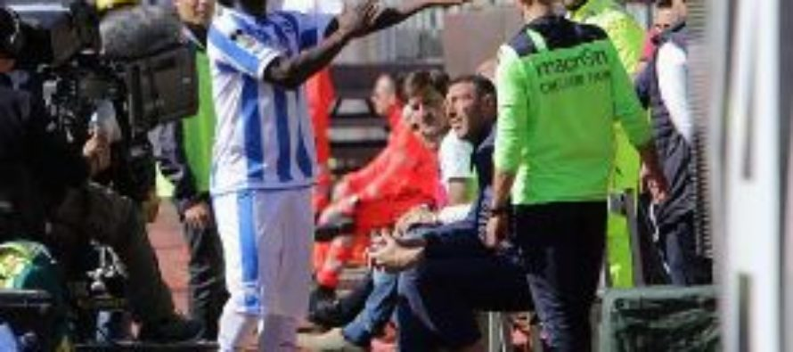 Muntari walks off field during Pescara's game due to racist abuse