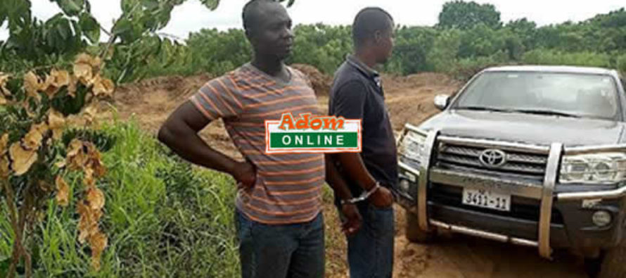 3 illegal sand winners arrested