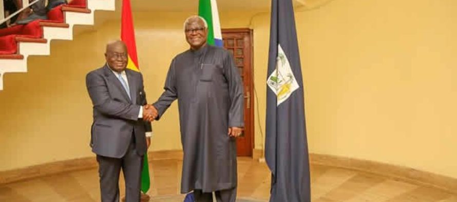 Ghana, Sierra Leone agree to ratify agreement for cooperation