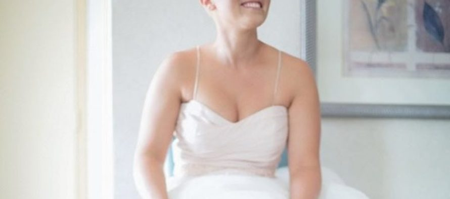 Meet the bride who has no hair