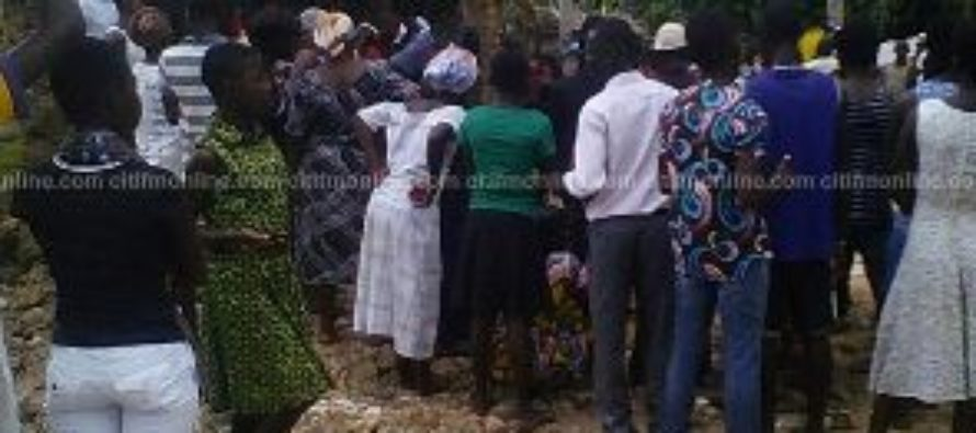 Woman killed after building collapses in Assin Akropong