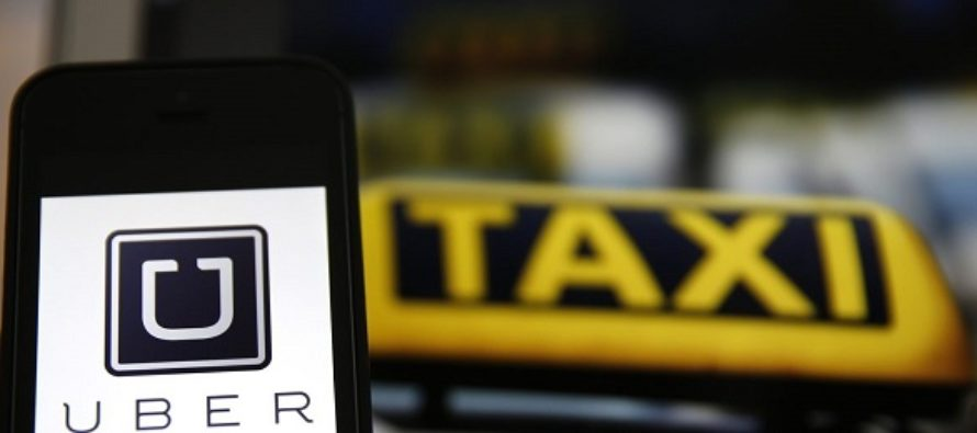 Uber operators are under attack from some taxi drivers in Ghana's capital, Accra.
