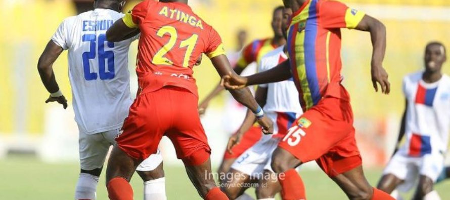 SCOREBOARD: Results and matchday stats of GPL Week 16