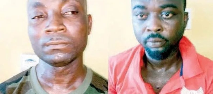 Police arrest soldier and taxi driver for alleged robbery