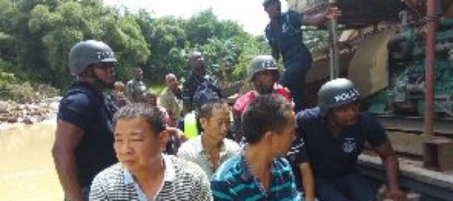 Court seizes passports of Chinese illegal miners