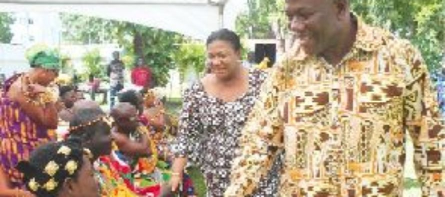 First Lady dialogues with traditional leaders