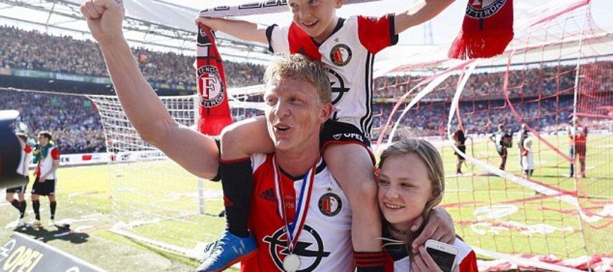 Dirk Kuyt retires from football after Feyenoord title win