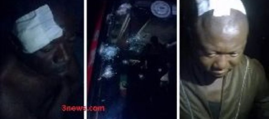 Armed robbers attack O.A bus; shoots driver and two passengers