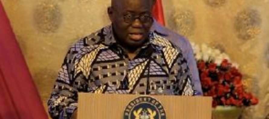 No going back to 'cash and carry' – President Akufo-Addo