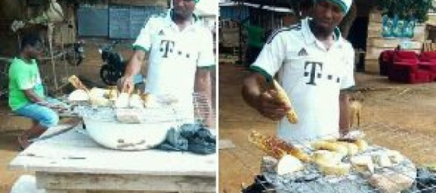 Meet the former GPL Star who roast corn for a living