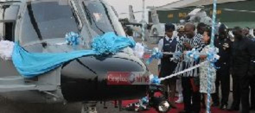 Ghana Gas helicopters are with Airforce – Jinapor