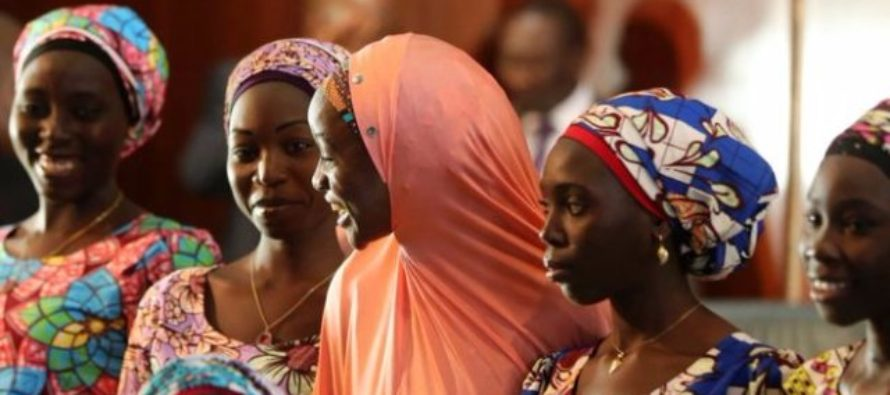 Chibok girl 'refused to be released'