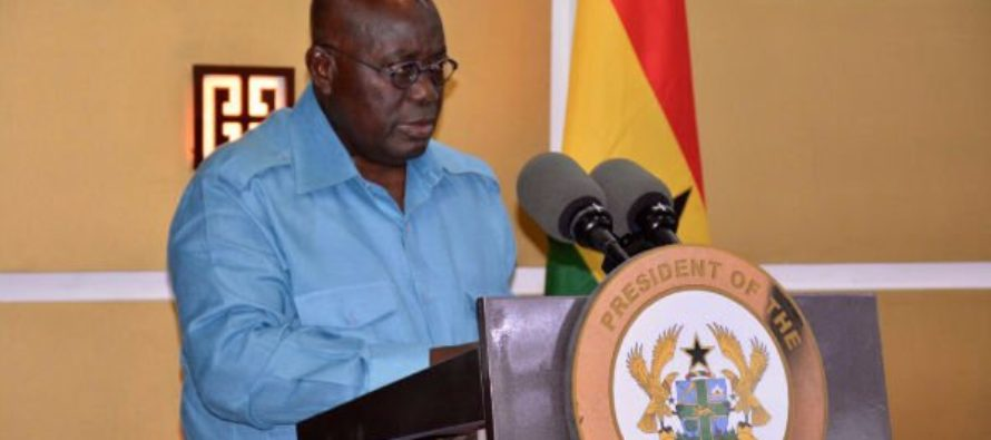 I'm not oblivious to enormity of corruption – Akufo-Addo