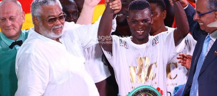 Richard Commey eyes clash with Luke Campbell