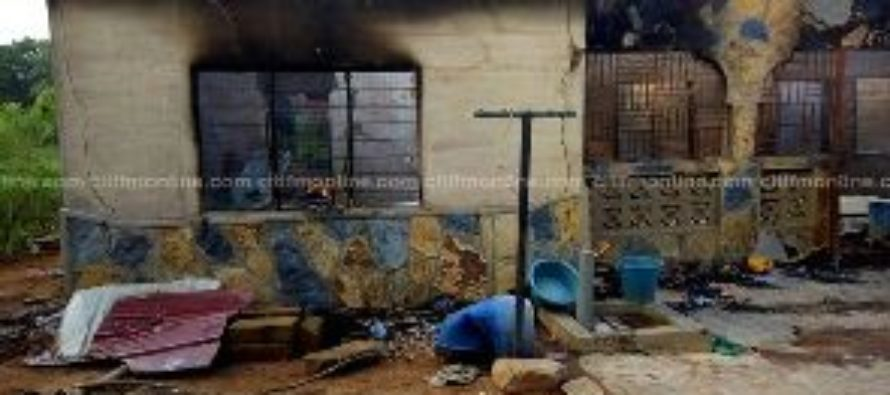 Fire guts Somanya home; GHC10,000 reportedly lost