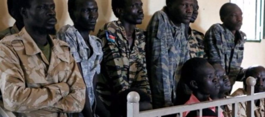 South Sudan soldiers on trial over rape of aid workers