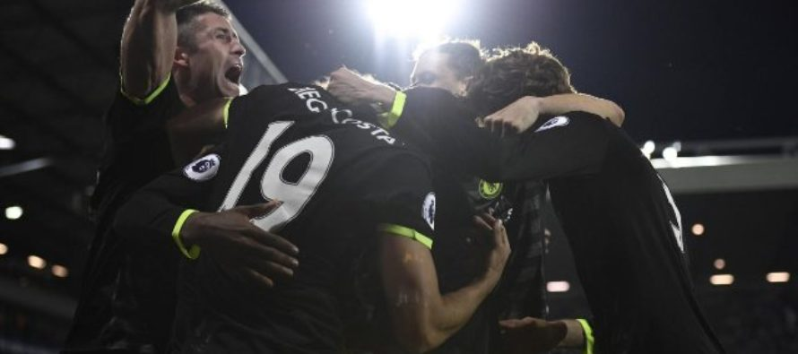 Chelsea champions thanks to Batshuayi's late strike against West Brom
