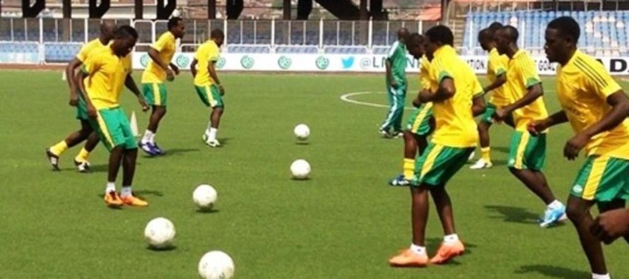 Nigerian player slumps, dies in training