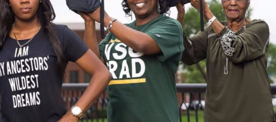 Mother, daughter graduate from college together