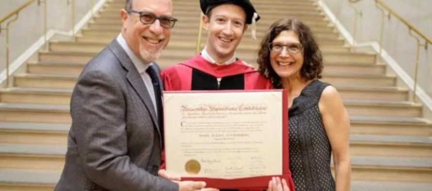 Mark Zuckerberg finally gets his Harvard degree – 12 years after dropping out