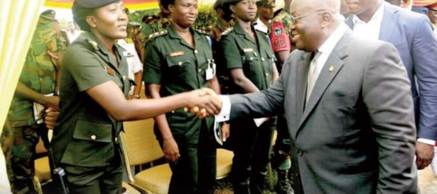 Akufo-Addo tasks soldiers to lead galamsey fight