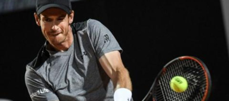 Andy Murray beaten by Fabio Fognini in Rome Masters second round