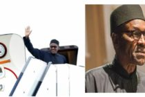 Nigeria's President Buhari off to London for medical follow-up