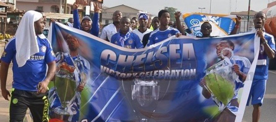 Chelsea Fans in Ghana to attend church service over blues EPL title success