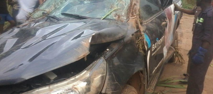 Three vehicles involved in accident at Santrokofi –Benua at the Weekend