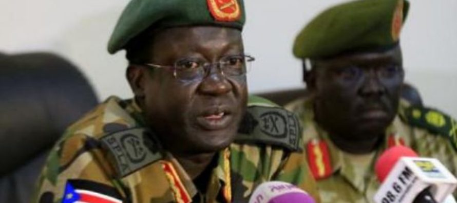 S.Sudan's sacked army chief quits Juba, dismisses fears amid civil war