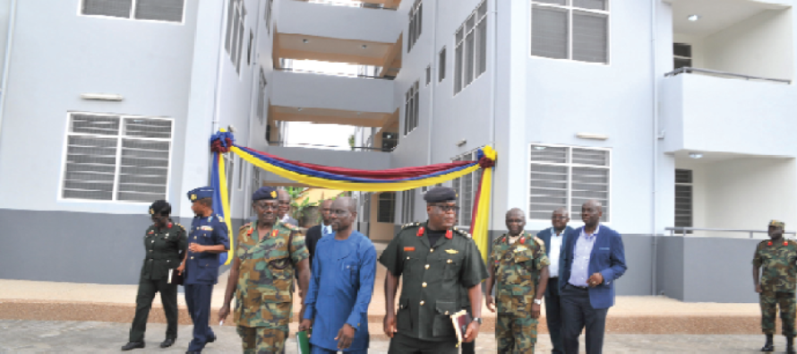 Defence Ministry hands over residential facility to mgt of 37 Hospital