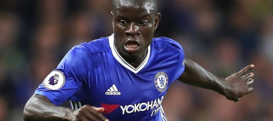 Kante named football writers' footballer of the year