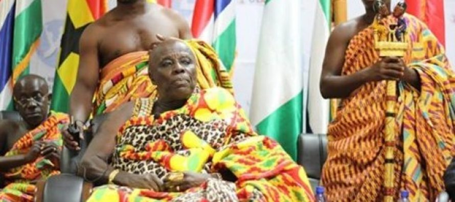 Angry Akyem Abuakwa chiefs storm BNI offices over Galamsey report