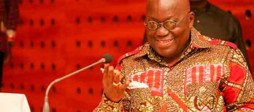We're moving national fight against corruption from rhetorics – Akufo-Addo