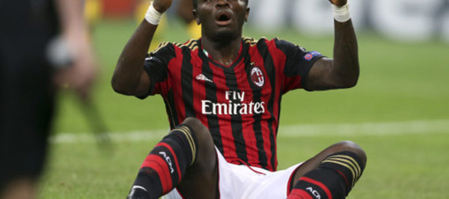 Sulley Muntari punished by Italian FA in racism probe