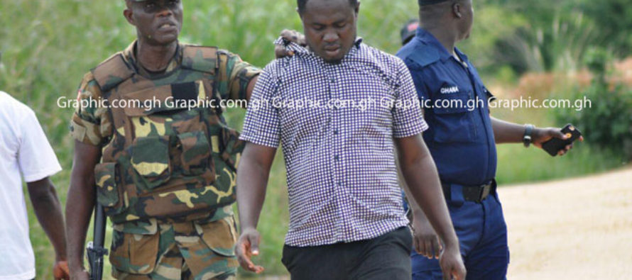 Amewu arrest 4 for engaging in galamsey at Amadaa