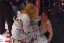 Kickboxer loses fight, gets slapped in face by mom (VIDEO)