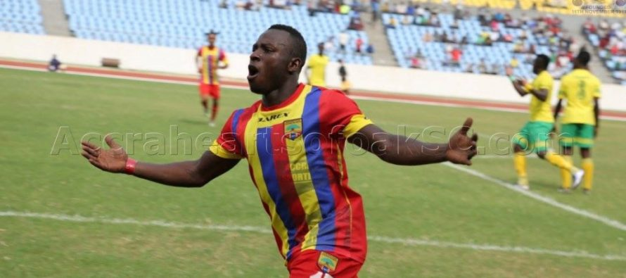Patrick Razak revels in Hearts demolishing of Kotoko in Ghana@60 anniversary game