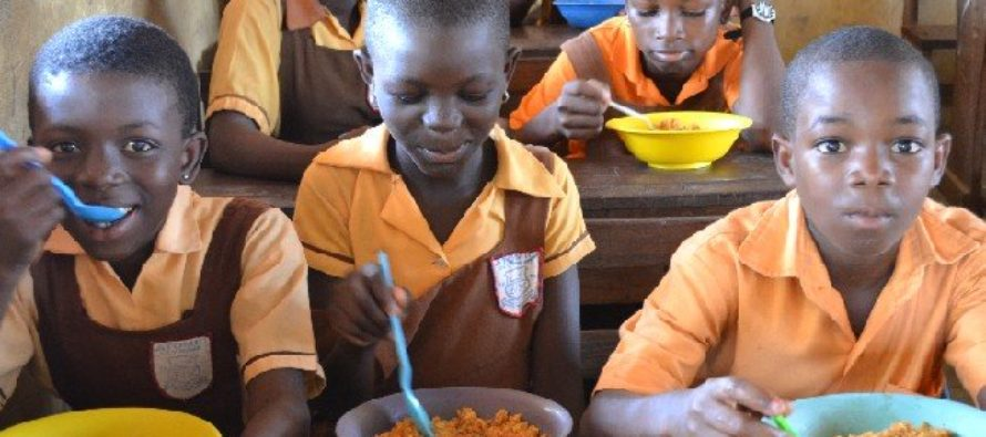 Audio: School feeding caterers picket Gender Ministry