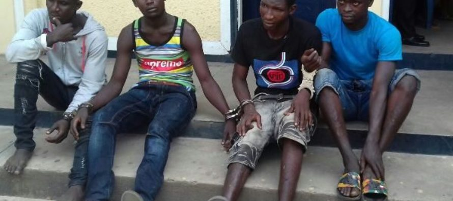 Kumasi Police parades suspected criminals for identification