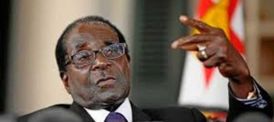 Mugabe donates cattle to support the African Union Foundation initiative