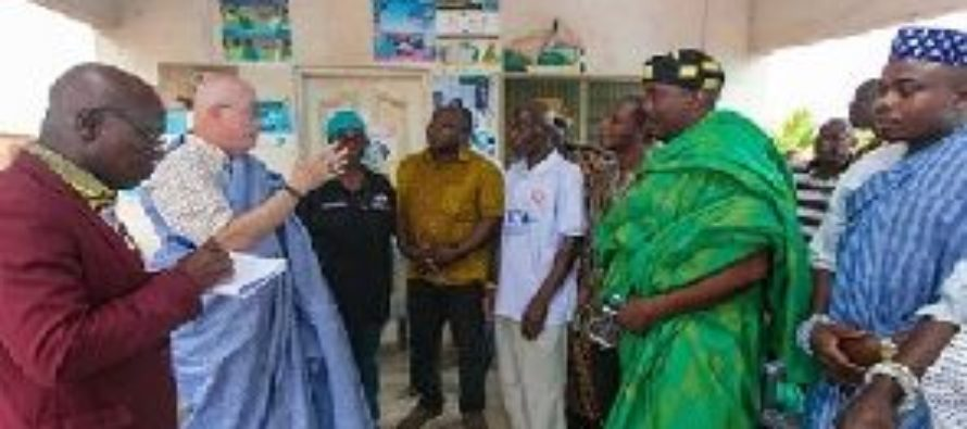 US Ambassador tours the Volta region to examine the state of USAID support projects