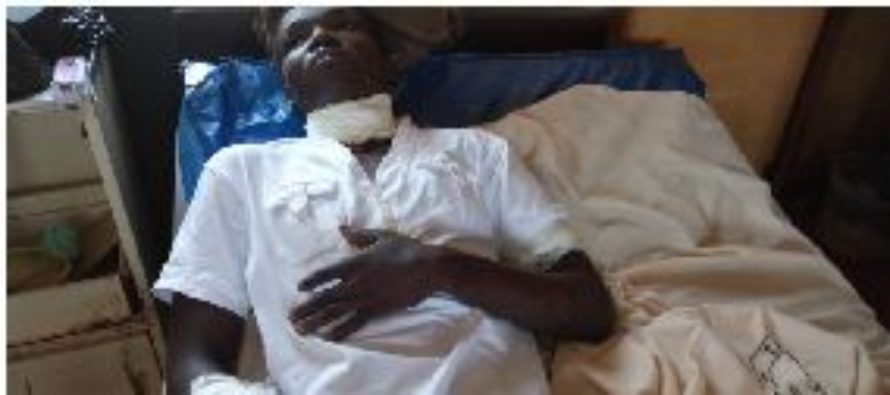 Mob slit neck of 24-year-old man over motorcycle theft